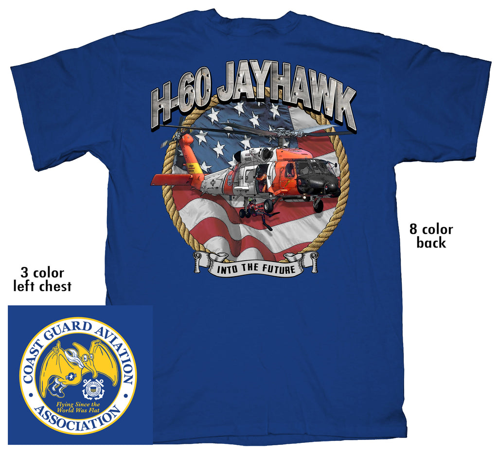 H-60 Helicopter Tshirt
