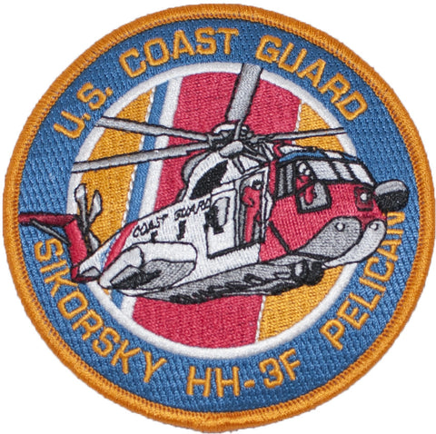 Coast Guard HH-3F Patch