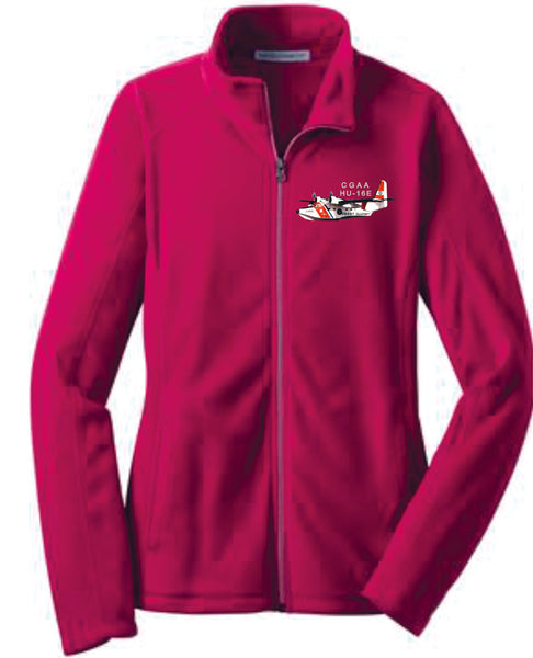 HU-16E Ladies Microfleece Zip Jacket