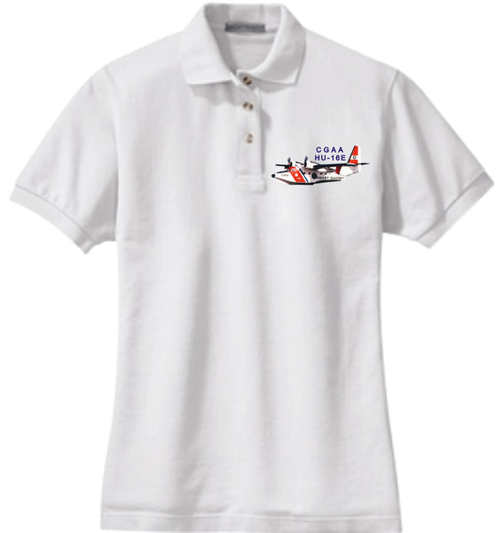 HU-16E Ladies Cotton Polo