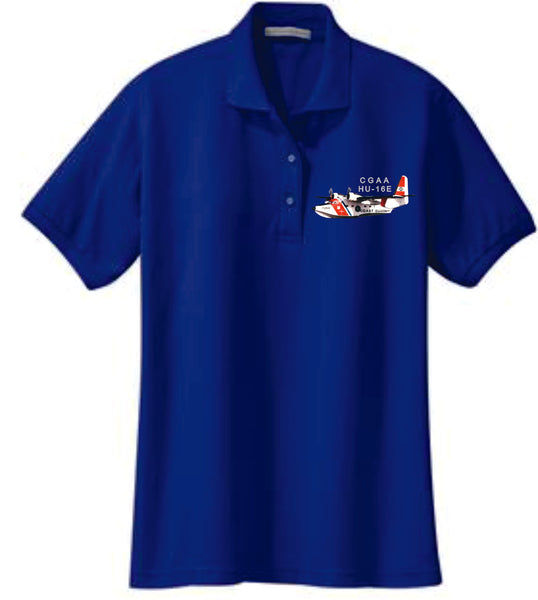 HU-16E Ladies Wicking Polo Shirt