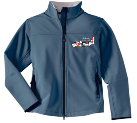 HU-16E Ladies Soft Shell Jacket