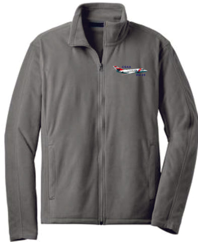 HU-25 Microfleece Zip Jacket