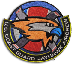 Coast Guard Jayhawk AirCrew Patch