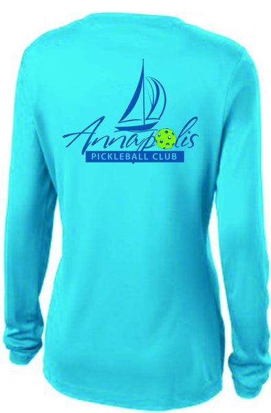 Ladies Long Sleeve Wicking Tshirt