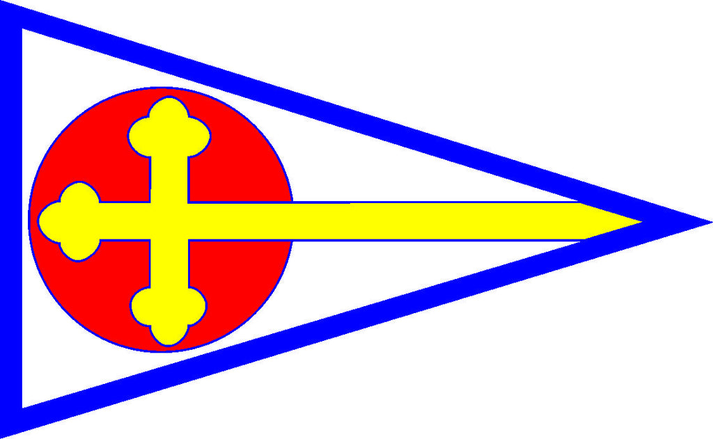 St. Mary's Sailing Burgee Decal