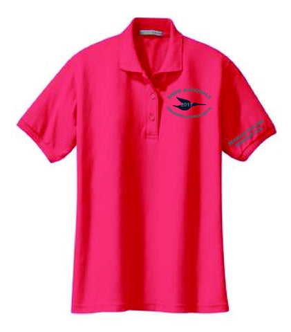 Snipe Natls Ladies Wicking Polo Shirt