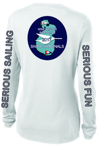 Snipe Natls Ladies Longsleeve wicking tshirt