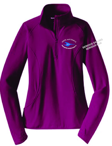 Snipe Natls Ladies 1/4 Zip Pullover