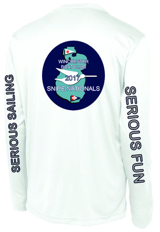Snipe Natls Long Sleeve Wicking Tshirt