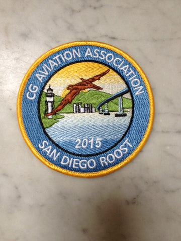 Coast Guard 2015 San Diego Roost Patch.