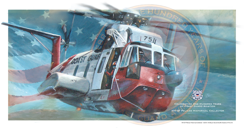 100 Years HH-3F Pelican Historical Collector Print