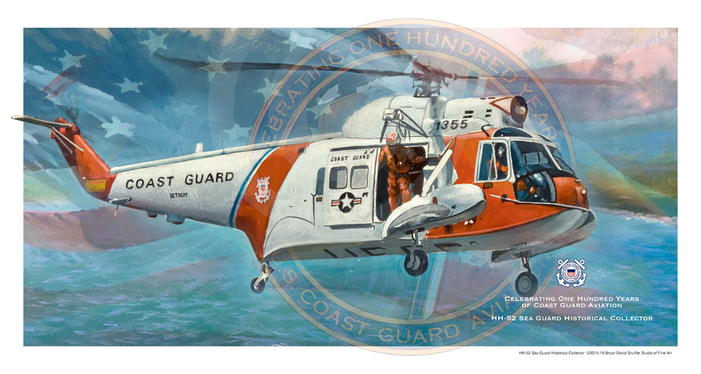100 Years HH-52 Sea Guard Historical Collector Limited Edition Print
