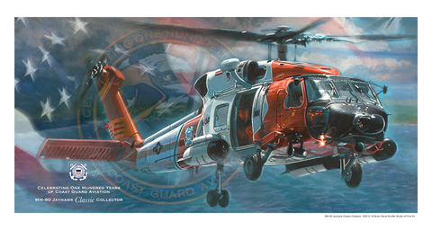 100 Years MH-60 Jayhawk Classic Collector Print