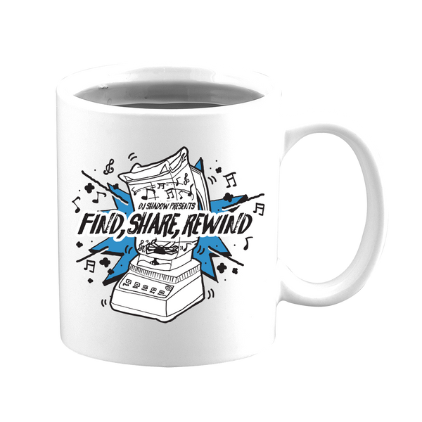 Find, Share, Rewind Coffee Mug (Limited Edition)