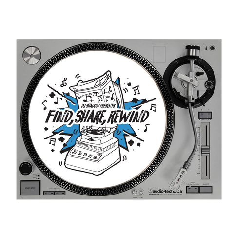 Find, Share, Rewind Slipmat (Limited Edition)