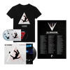 Live in Manchester: The Mountain Has Fallen Tour T-Shirt + Poster Bundle