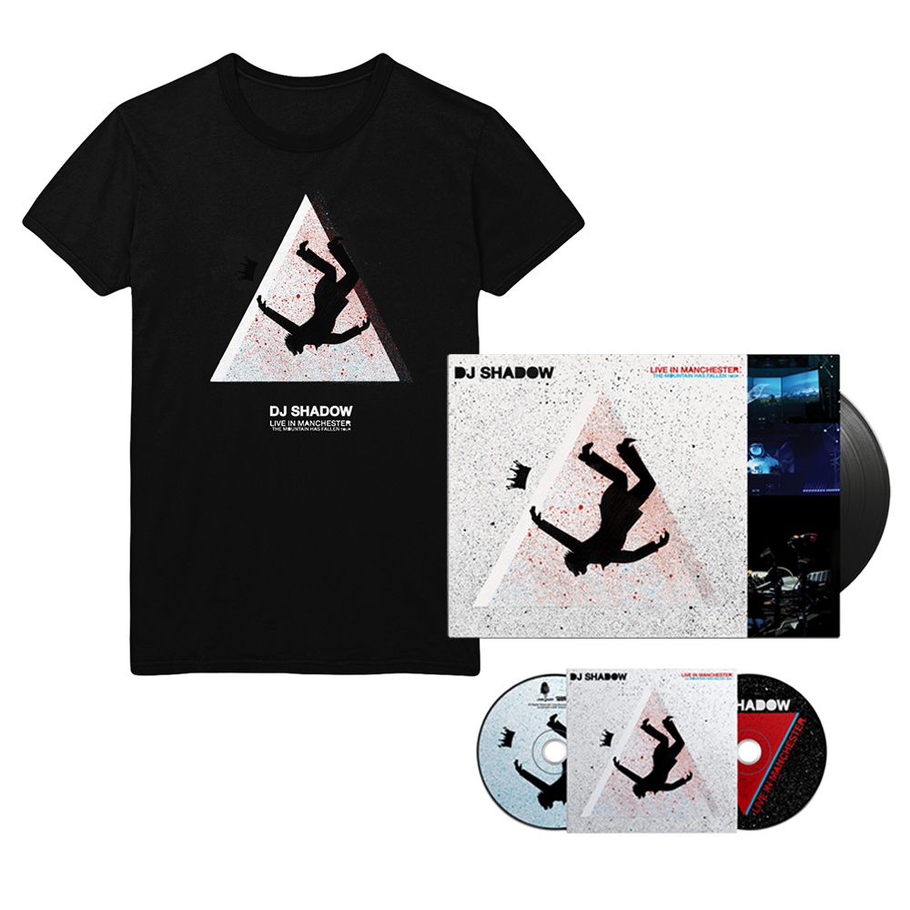 Live in Manchester: The Mountain Has Fallen Tour T-Shirt Bundle
