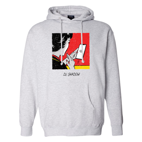 Our Pathetic Age Grey Drawstring Hoodie + Digital Album