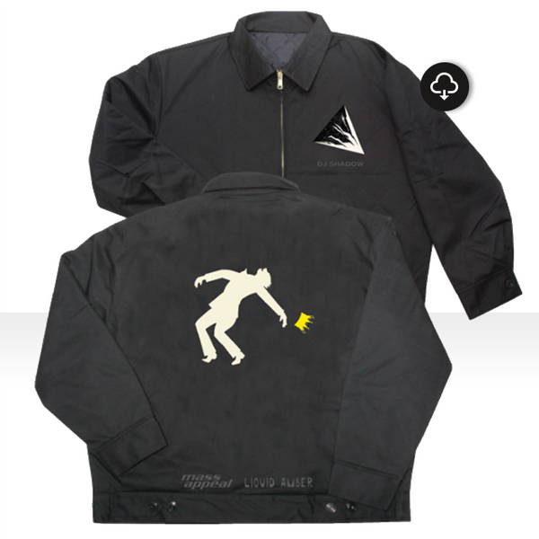 The Mountain Will Fall Limited Edition Ebbets Field Flannel Grounds Crew Jacket + Download (DJShadow.com Exclusive)