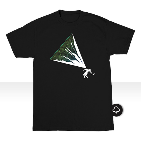 The Mountain Will Fall - T-Shirt + Download (DJShadow.com Exclusive)