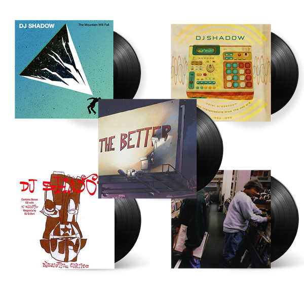DJ Shadow Discography Vinyl Bundle