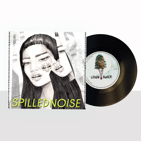 "LIQUID AMBER: NOER THE BOY - SPILLEDNOISE EP (12"" VINYL)"