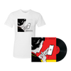 OUR PATHETIC AGE 2XLP STANDARD VINYL + T-SHIRT BUNDLE
