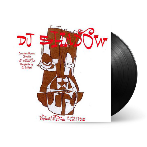 DJ Shadow - Preemptive Strike (LP)