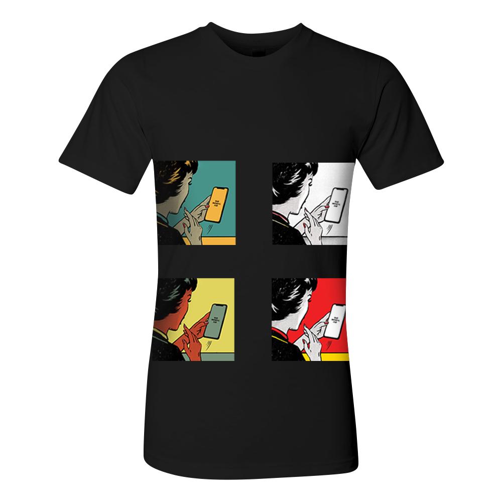 Four Covers Black Tee