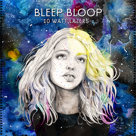 "LIQUID AMBER: Bleep Bloop - 10 Watt Lazers EP (7"" Vinyl)"