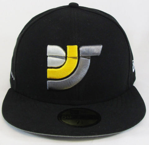Limited Edition New Era 59FIFTY® DJS Logo Fitted Hat (Black)
