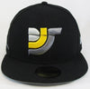 Limited Edition New Era 9FIFTY™ DJS Logo Snapback Hat (Black)