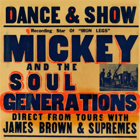 Mickey & the Soul Generations - Mickey & the Soul Generations (12