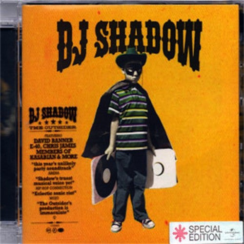 DJ Shadow - The Outsider Special Edition (CD)