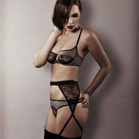 92c099c04 When designing suspender belts for my collections I wanted to keep that  wonderful feeling and classic elegant look that they give you when wearing  them.