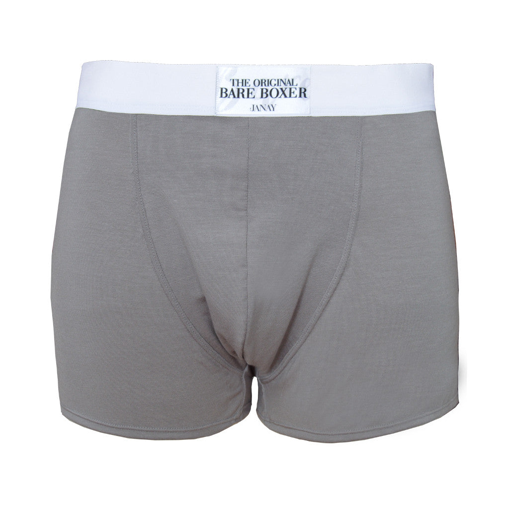 The Original Bare Beige Grey Boxer