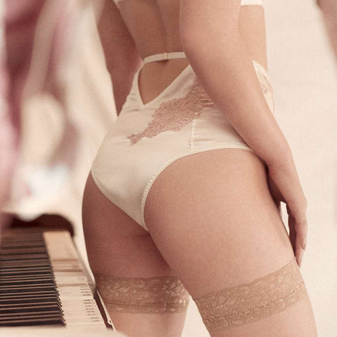 Ethereal Silk High Waist Brief