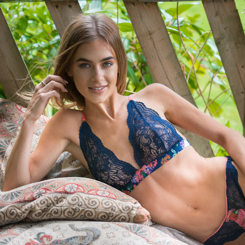 Willow Lace Triangle Bra
