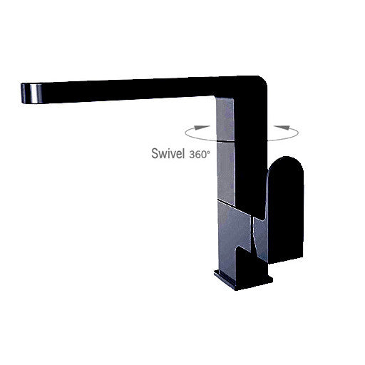 Matt Black Kitchen Mixer 2807-07