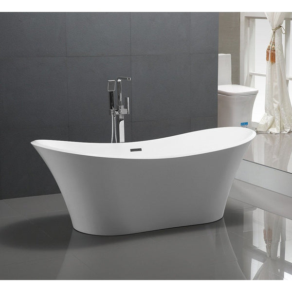 6518-1800 Tulip Shape Freestanding Bath