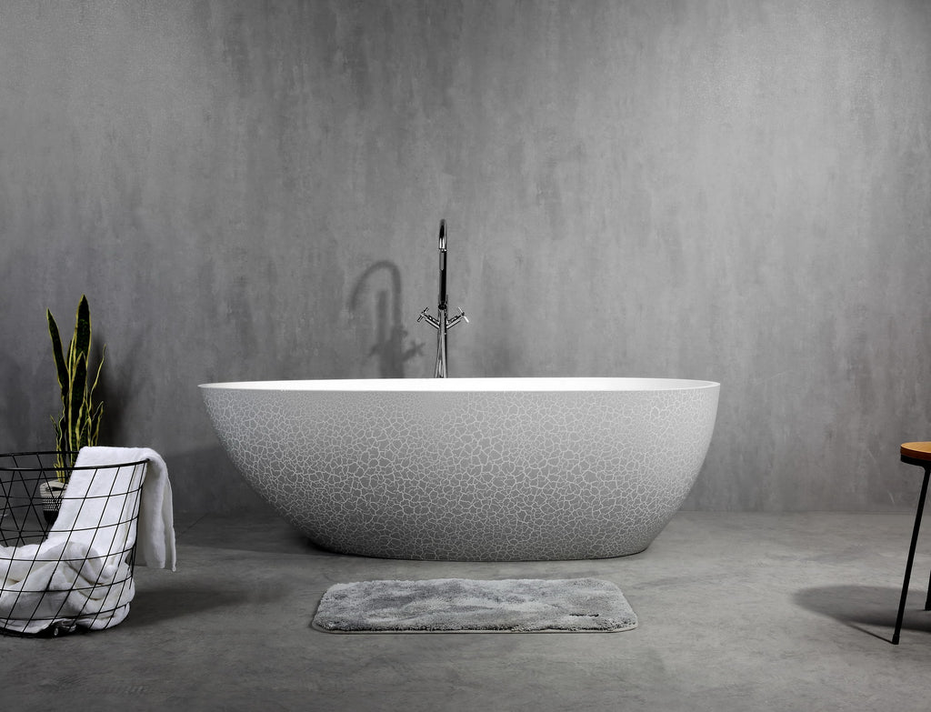 Ocenia Artificial Stone Bathtub LARRIMAR,