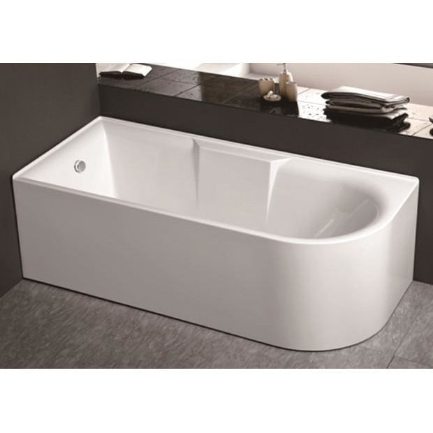 ALLURE Acrylic Corner Bath (1700/1500 mm LEFT & RIGHT)