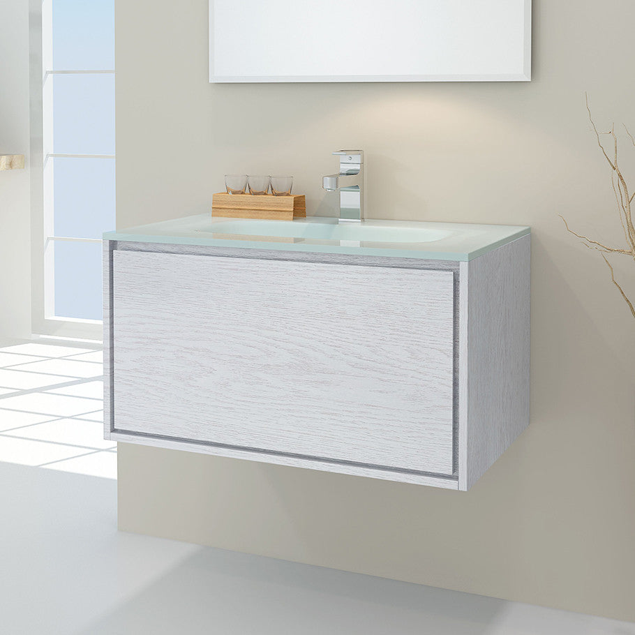 LINEAR VANITY 750 SINGLE BASIN