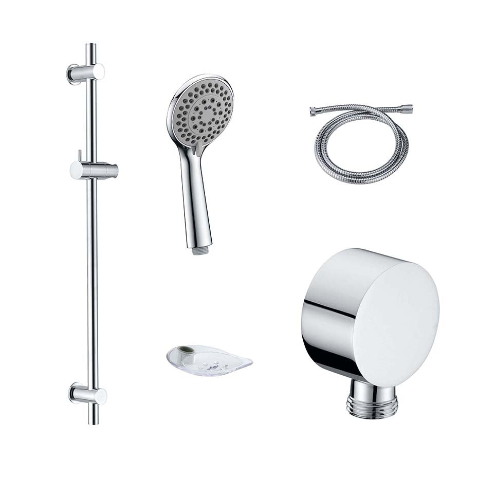 Dolce rounded shower set S001