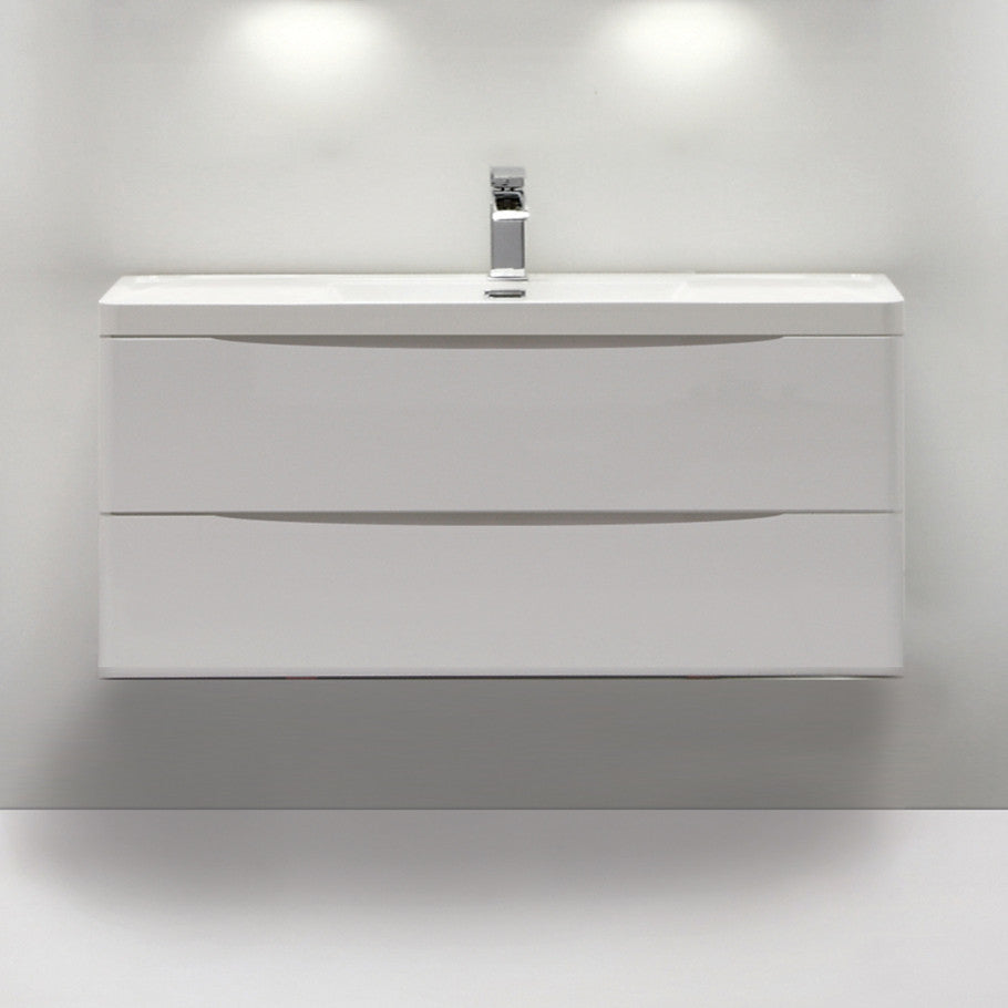 SMILE SINGLE BASIN WALL HUNG VANITY 1200mm