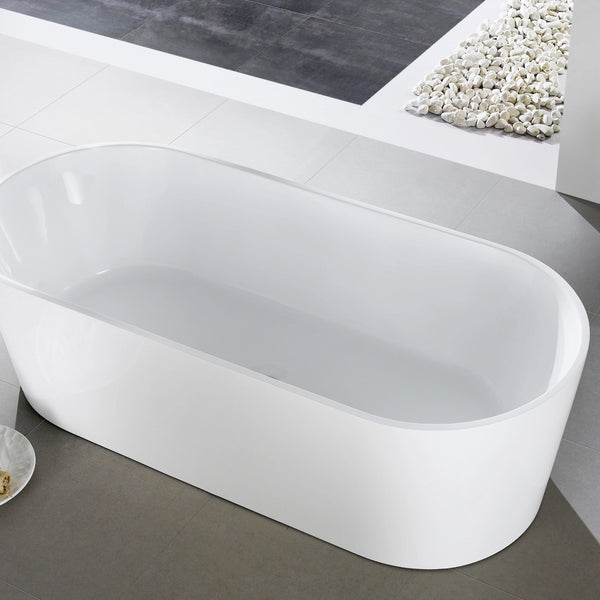 1014-1600 Free Standing Oval Shape Bathtub