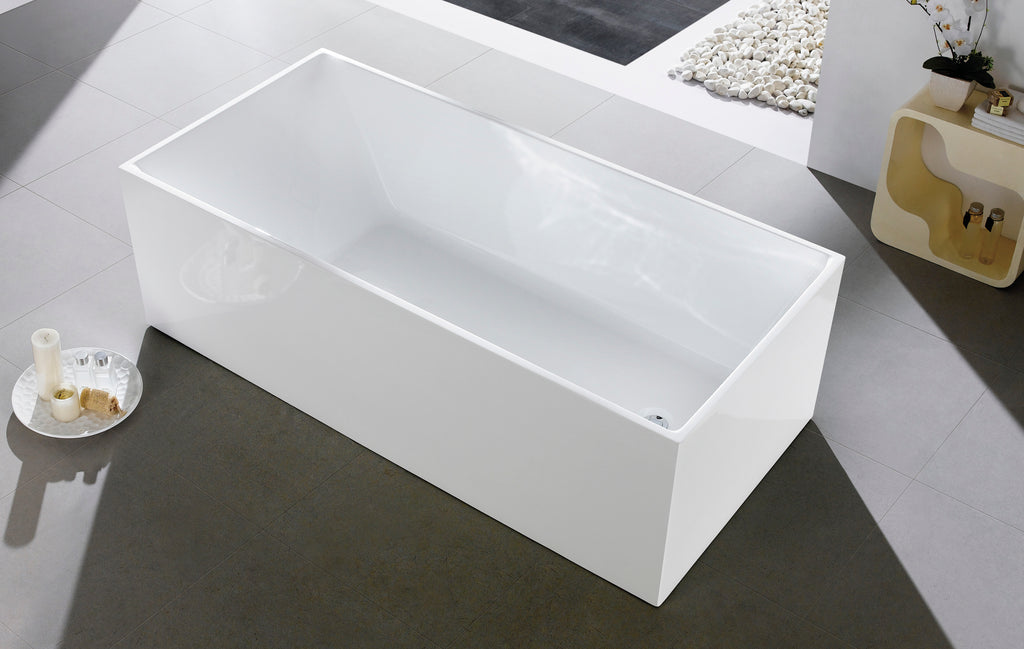 1030-1700 Four Square Straight Sided Freestanding Bath