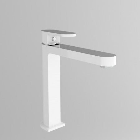 Chrome White Kitchen Mixer 3013-07