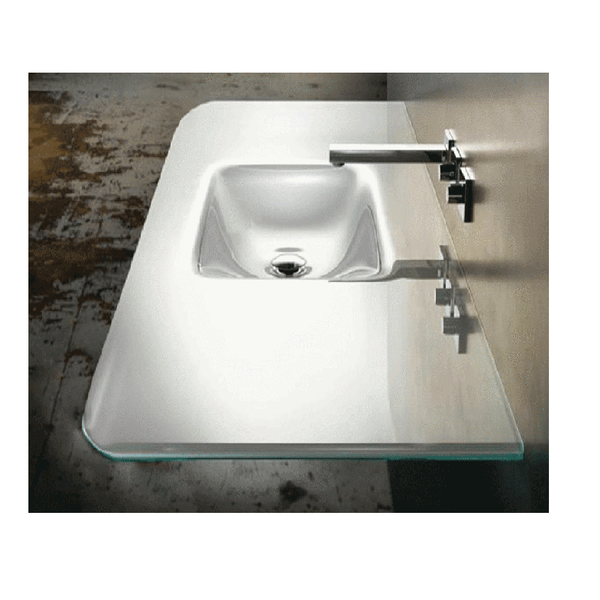 Glass Series Smile Vanity Basin